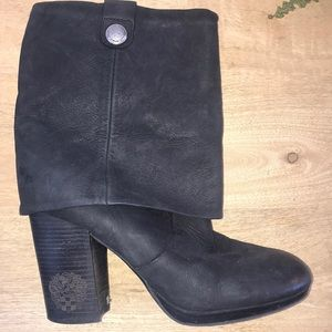 Vince Camuto Chapin Suede Fold Over Boots